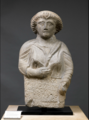 Woman's funerary stele.png