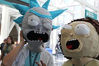 Wondercon 2016 - Rick and Morty Cosplay (25988428002).jpg