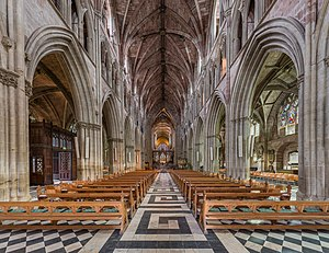Worcester Cathedral - The nave