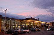 Der neu gestaltete Bahnhof Wiener Neustadt