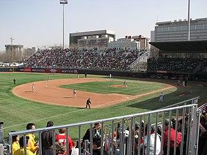 Wukesong Baseball Field in Beijing