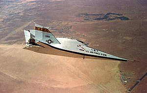 Martin Marietta X-24 - The X-24B in flight