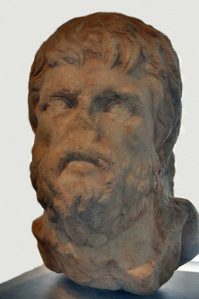 Xenophon bust