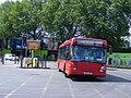 YN03 WRP S40 Scania CN94 Omnicity Metrobus 540.Olympic games vehicle.. (7706156530).jpg