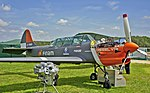 Yak-52 with V12 the diesel RED A03 engine (9812947173).jpg