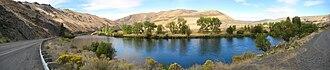 Yakima River - Image: Yakima River Panorama