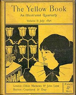 <i>The Yellow Book</i> literary magazine