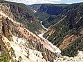 Yellowstone River (Grand Canyon of the Yellowstone, Wyoming, USA) 44 (40723170553).jpg