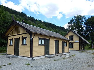 Ygre Station railway station in Voss, Norway