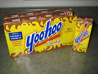 Yoo-hoo - Image: Yoohoo boxes