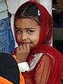 Young Girl at Golden Temple - Amritsar - Punjab - India - 01 (12714851454).jpg