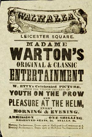 Youth on the Prow, and Pleasure at the Helm - Image: Youth & Pleasure handbill