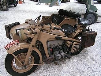 Zündapp - A Zündapp KS750 Wehrmacht sidecar from the 1940s