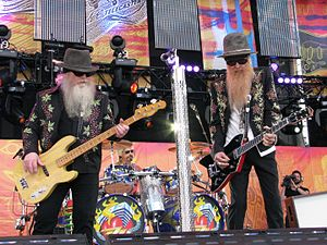 ZZ Top - ZZ Top at the Crossroads Guitar Festival, on June 26, 2010