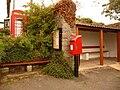 Zeal Monachorum, postbox No. EX17 106 and phone - geograph.org.uk - 1464748.jpg