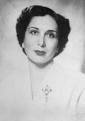 Zein Al-Sharaf Talal, Egyptian-born Queen of Jordan (1951-52).[116]