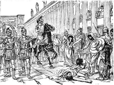 Zenobia's Defiance of the Roman Tribune in the Street of the Thousand Columns.jpg