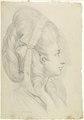 Zentralbibliothek Zürich - Portät von Anna Magdalena Schweizer geb Hess im Alter von 27 Jahren - 000003019.tif