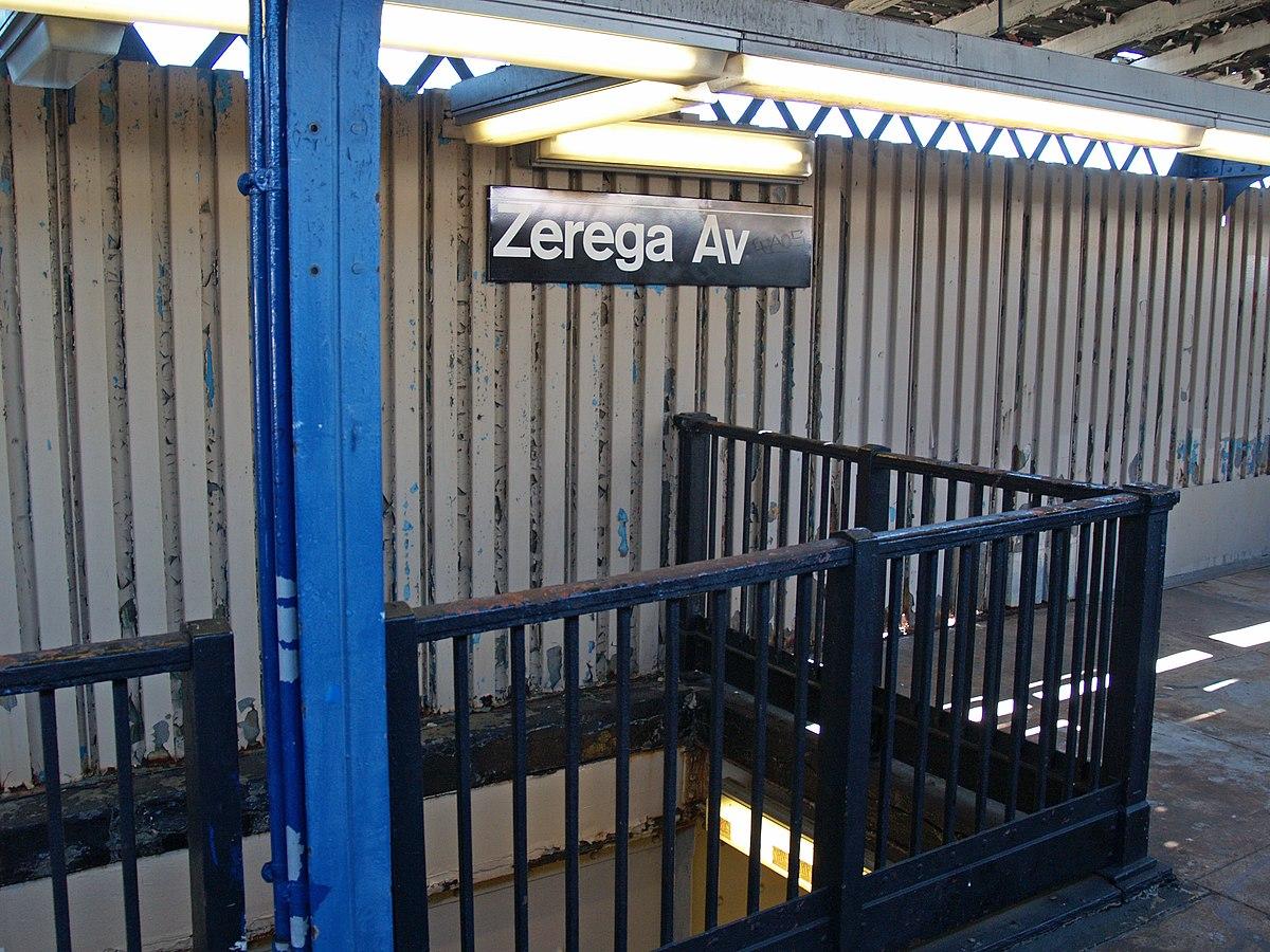 Zerega Avenue  Irt Pelham Line