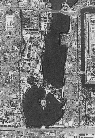 Zhongnanhai - Satellite image of Zhongnanhai.  (1967-09-20)