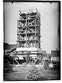 Zoltan Gerenčer - gradnja spomenika zmage v Murski Soboti 1945 (3).jpg