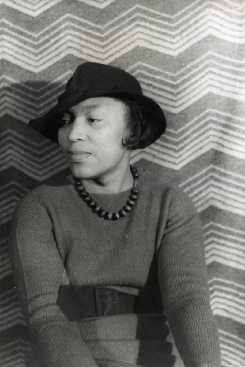 photo of Zora Neale Hurston by Carl Van Vechten