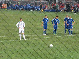 Zvjezdan Misimović - Zvjezdan Misimović penalty kick vs Greece.