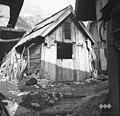 """""""Bajta"""" (domačija sirarna, Zadnjica), Trenta 40, Andrej Hosner, pri Kurtelnu 1952.jpg"""