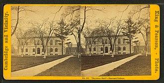 Ward Nicholas Boylston - Boylston Hall, Harvard University