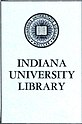 """INDIANA UNIVERSITY LIBRARY"" bookplate detail, from- A cidade de S. Paulo em 1900 (page 1 crop).jpg"