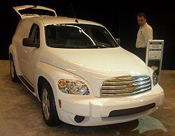 En 2008 års Chevrolet Hhr Här I Sutförande