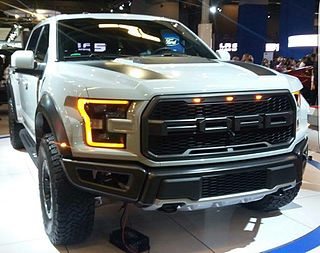 Ford Raptor US pickup truck
