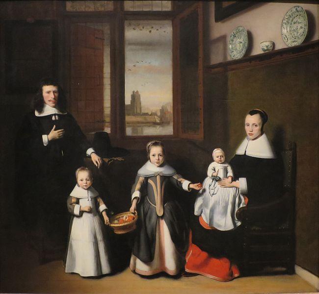 Nicolaes Maes, Interior with a Dordrecht Family, c. 1656, Norton Simon Museum, Pasadena, CA, USA.