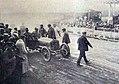 'Pierry' ('Gaby' Hugeut), au départ de la deuxième manche du Grand Prix de l'ACF, sur Brasier 105HP.jpg