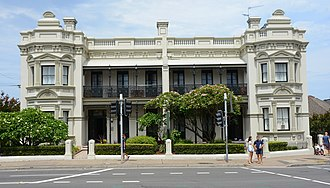 Randwick, New South Wales - Corana and Hygeia, also known as Randwick Lodge, Avoca Street