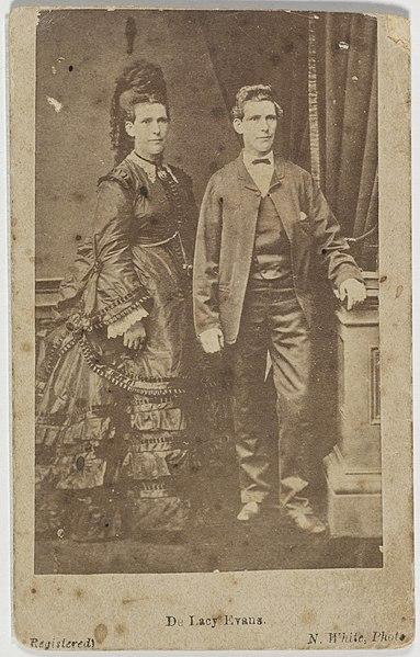 File:(Ellen Tremaye alias Edward) de Lacy Evans, c, 1879 by N. White, (5931919437).jpg