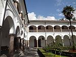 (Iglesia de San Francisco, Quito) Convento pic.bb05 interior courtyard.JPG