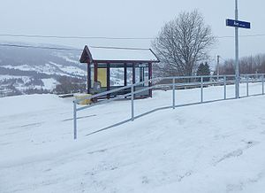Ålen Station - Image: Ålen hp