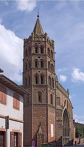 Église Notre-Dame de l'Assomption (Grenade) Clocher.jpg