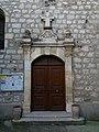 Église Saint-André d'Alba-la-Romaine - Portail.jpg