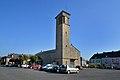 Église Saint-Côme et Saint-Damien de Roncey. Vue nord-ouest.jpg
