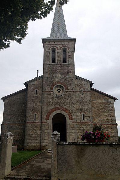 Église Saint-Corneille de Pizay.