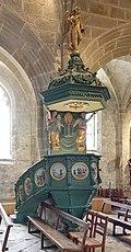 Église Saint-Ronan - intérieur - chaire.jpg