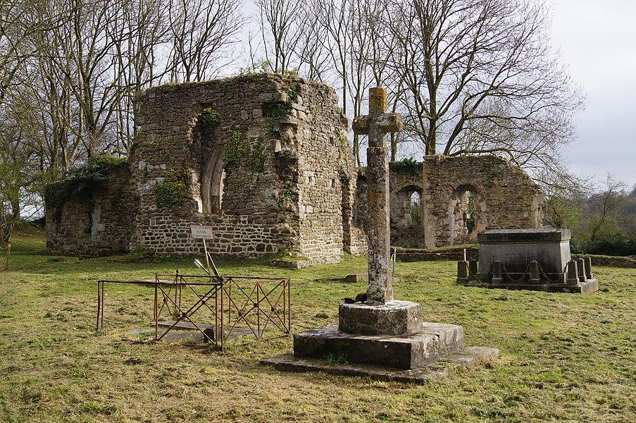 Église en ruines Saint-Thomas de Lithaire