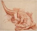 Étude de crocodile entre les roseaux.png