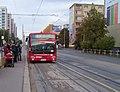 Červený vrch, autobus 206.jpg