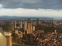 İstanbul view from İstanbul Sapphire observation deck Aug 2014, p13.JPG