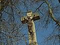 Řevničov, kříž, detail.JPG