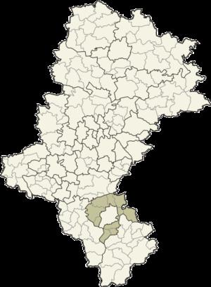 Bielsko County - Image: Śląskie bielski
