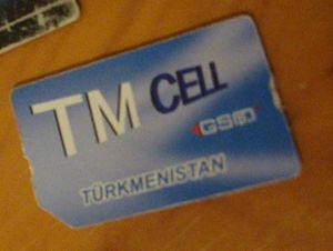 Altyn Asyr - Altyn Asyr SIM-card